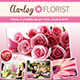 Flower Shop Flyer / Magazin-Graphicriver中文最全的素材分享平台
