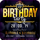 VIP My Birthday V2 Flyer Template - GraphicRiver Item for Sale