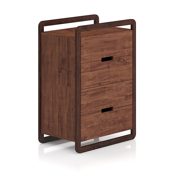 Modern Wooden Cabinet - 3DOcean Item for Sale