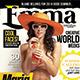 Emma Fashion Magazine + 2 Covers