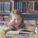 Girl in The Library 5 - VideoHive Item for Sale