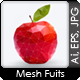 Mesh Fruits - GraphicRiver Item for Sale