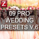 9 Pro Wedding Presets vol.6 - GraphicRiver Item for Sale
