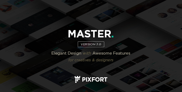 MASTER - Corporate Multipurpose PSD Template - Corporate PSD Templates