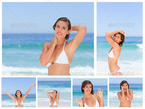 позы как фоткаться на пляже купить кредит