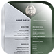 Pioneer Resume 2 - GraphicRiver Item for Sale