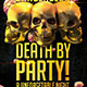 Death by Party PSD Flyer Template - GraphicRiver Item for Sale