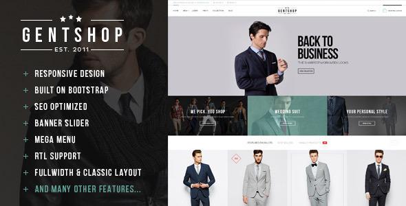 Lexus GentShop - Simplicity Opencart Theme - Fashion OpenCart