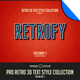 Pro Retro 3D Text Effects Vol. 1