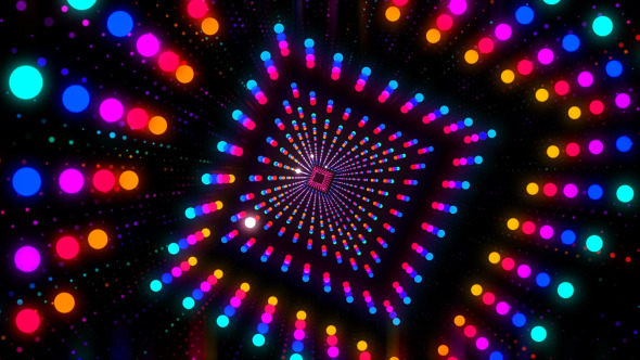 vj dancing tunnel by hk graphic videohive