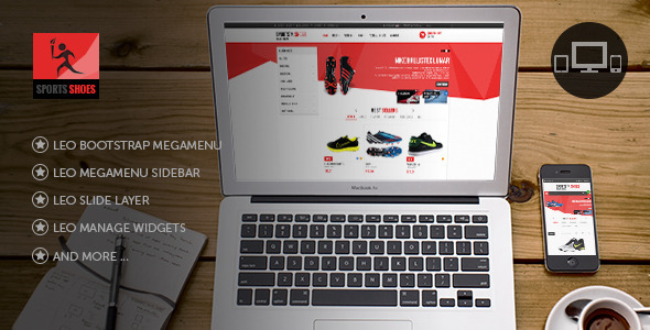 Leo Football Wear Prestashop Theme - Fashion PrestaShop