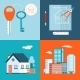 Retro Real Estate and Construction Symbols  - GraphicRiver Item for Sale