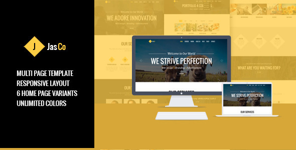 JASCO – Creative Multi-purpose HTML5 Template