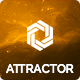 Attractor - Responsive One Page Parallax Theme Nulled