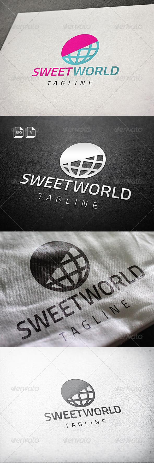 Sweet World Logo - Abstract Logo Templates
