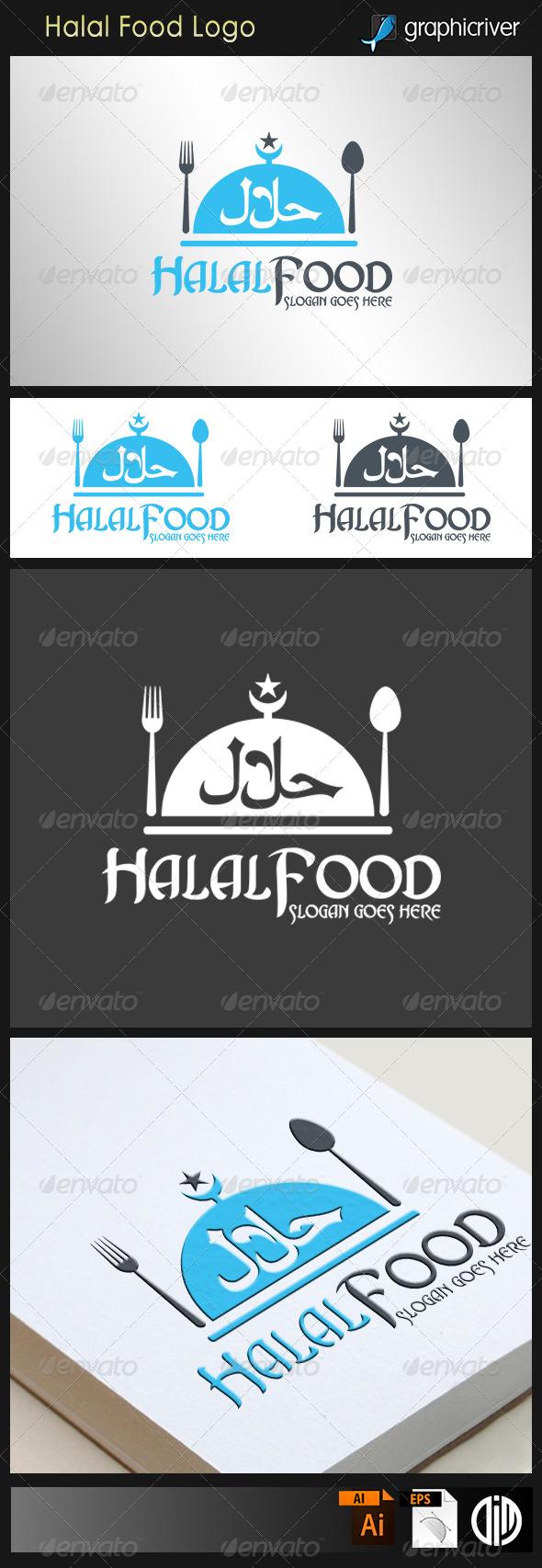Halal Food Logo