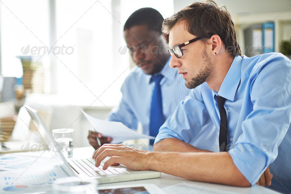 Man networking - Stock Photo - Images