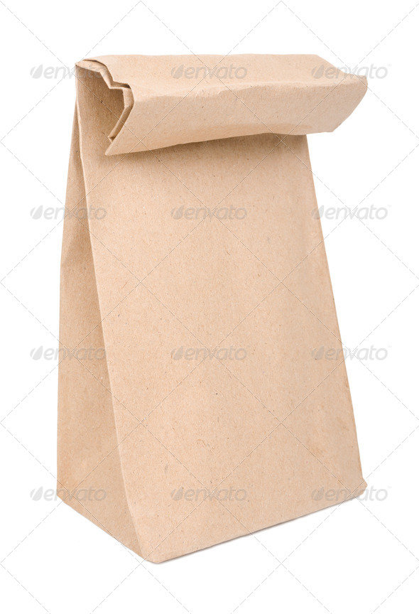Paper bag - Stock Photo - Images
