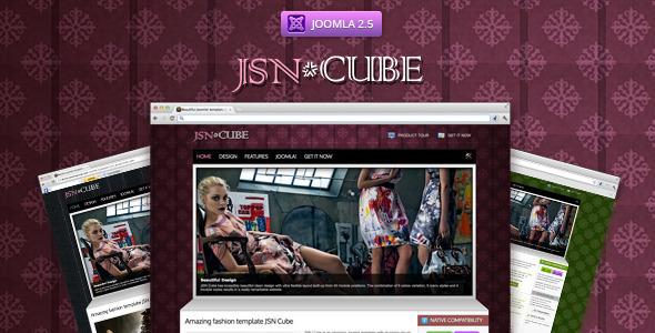 JSN Cube – Joomla Fashion Responsive Template