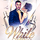 White Affair Party Flyer PSD - GraphicRiver Item for Sale