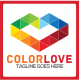 Color Love Logo - GraphicRiver Item for Sale