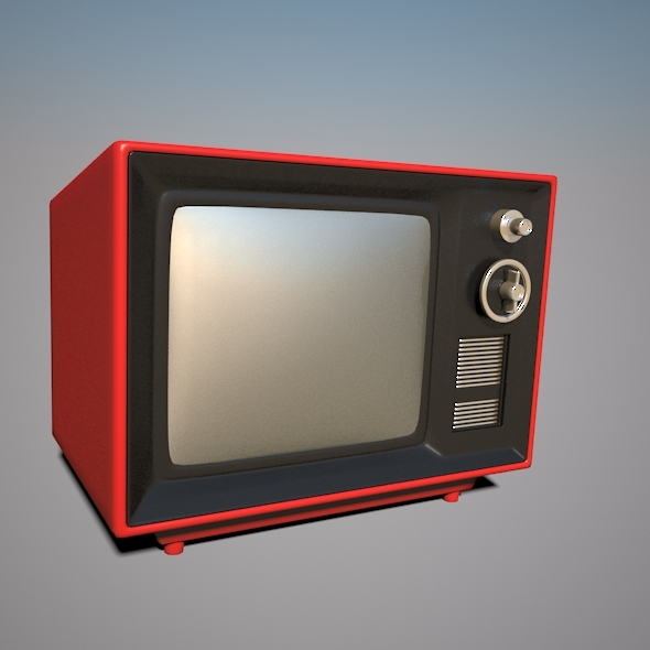 Old Television - 3DOcean Item for Sale