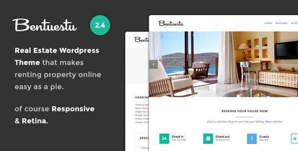 Bentuestu – Responsive Real Estate WordPress Theme