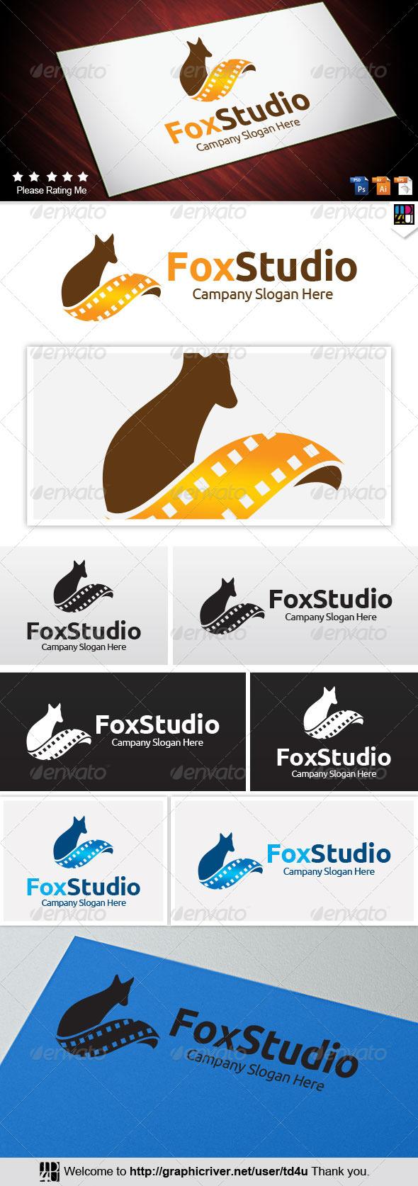 Fox Studio - Animals Logo Templates