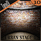 Urban Stage - Round Walls - GraphicRiver Item for Sale