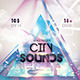 City Sounds Flyer - GraphicRiver Item for Sale