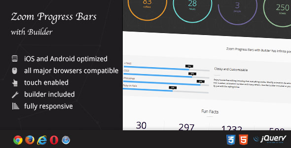 Zoom Progress Bars with Builder nulled