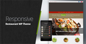 Restaurant Responsive WordPress Themes