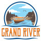 Grand River T-Shirt Graphic - GraphicRiver Item for Sale