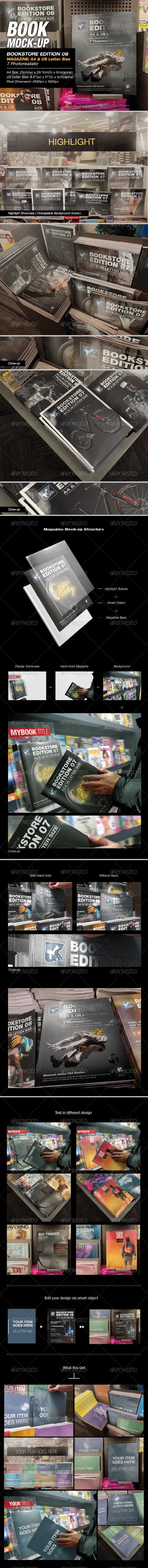 Bookstore Edition 08 Mock-up - Magazines Print