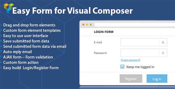 DHVC Form : Wordpress Form for Visual Composer - CodeCanyon Item for Sale