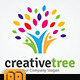 People Creative Tree logo - GraphicRiver Item for Sale