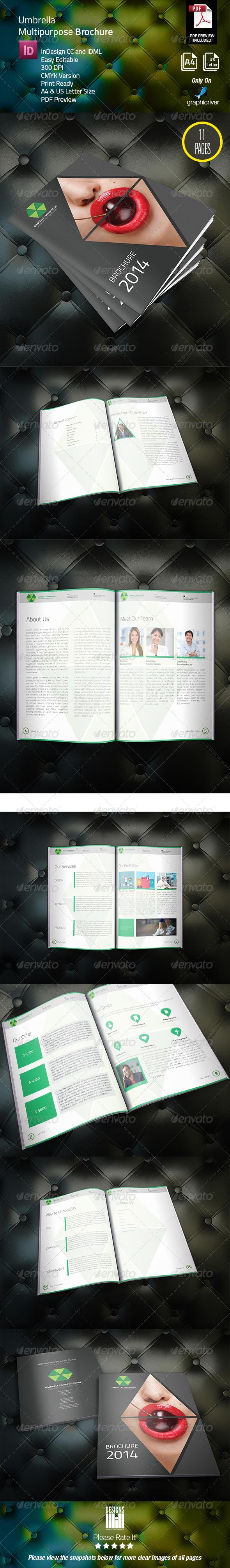 Umbrella Corporate Brochure - Corporate Brochures