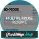 Multipurpose Resume - GraphicRiver Item for Sale