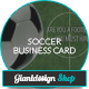 Business Card Soccer Coach - GraphicRiver Item for Sale