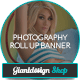 Photography Pro Outdoor Banner Signage - GraphicRiver Item for Sale