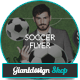 Soccer Fever Competition Flyer - GraphicRiver Item for Sale