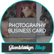 Business Card For Photographer - GraphicRiver Item for Sale