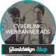 Cyberlink - Web Banner Ads - GraphicRiver Item for Sale