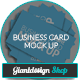 Business Card - Mock Up - GraphicRiver Item for Sale