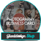 Photographer - Business Card - GraphicRiver Item for Sale