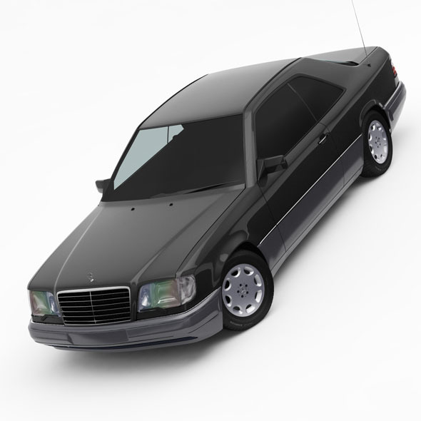 Mercedes-Benz W124 / C124 E-Class Coupe 1993-96 - 3DOcean Item for Sale
