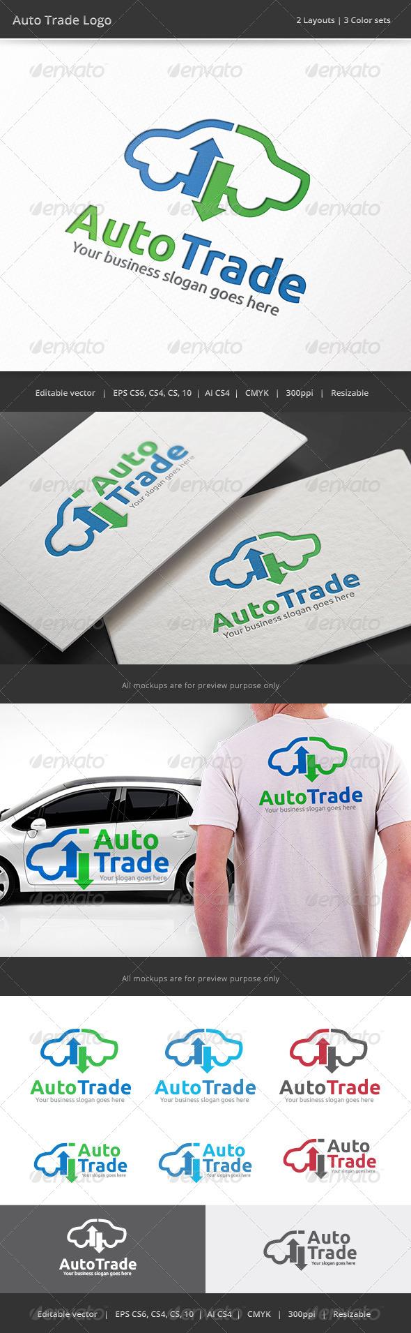 Auto Car Trade Logo