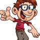 Nerdy Kid - GraphicRiver Item for Sale