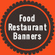 Food Restaurant Banners - GraphicRiver Item for Sale