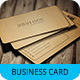 Woody Business Card Template SN-11 - GraphicRiver Item for Sale